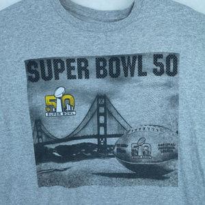 NFL Team Apparel Super Bowl 50 T Shirt Long Sleeve